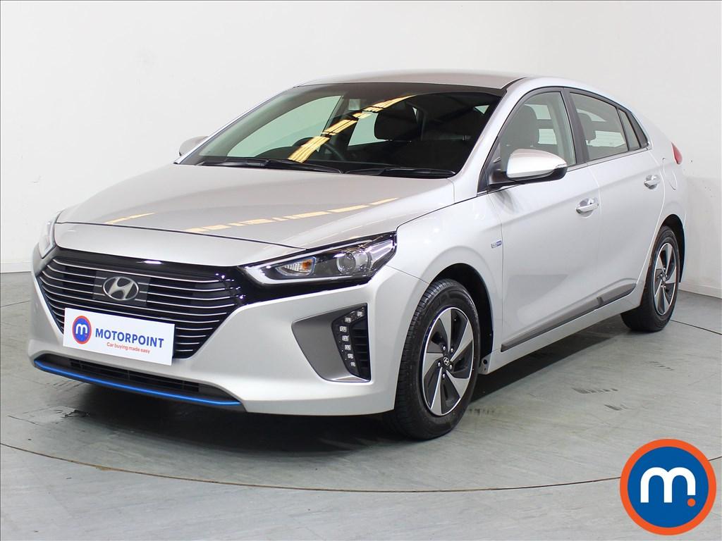 Hyundai Ioniq Premium - Stock Number 1088007 Passenger side front corner