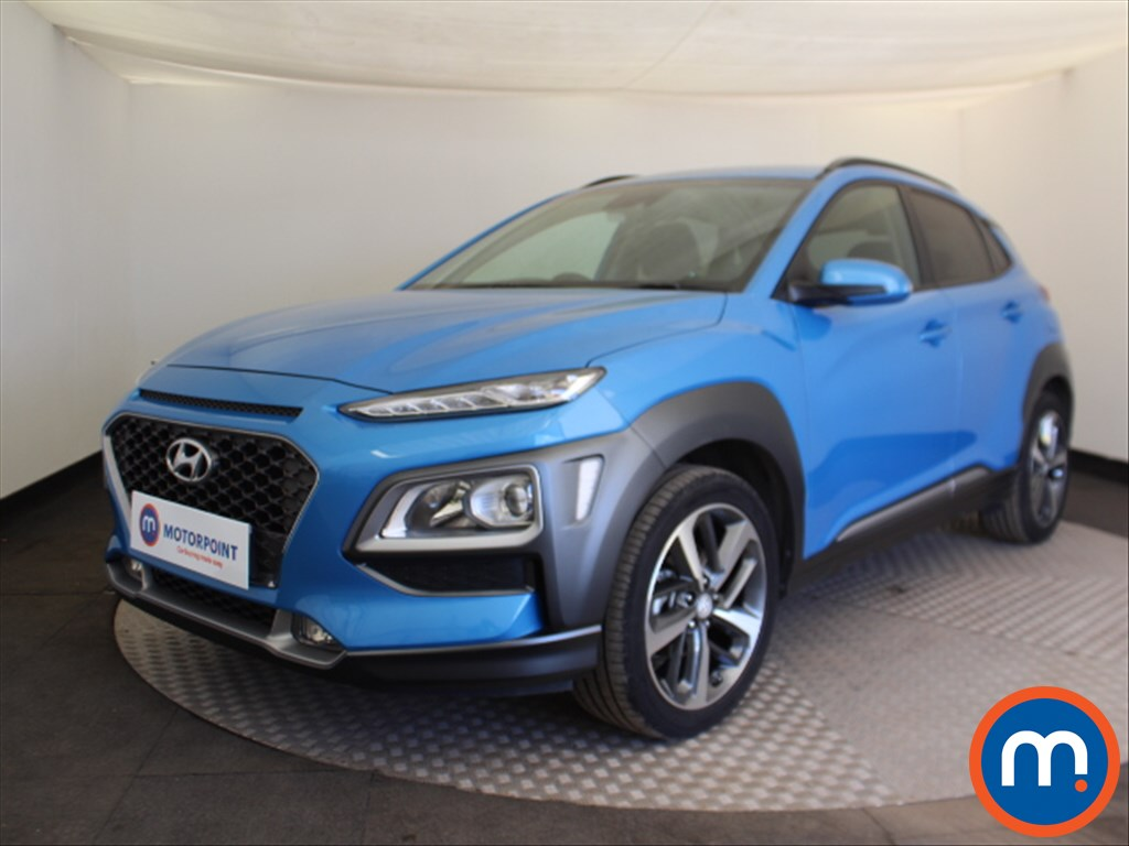 Hyundai Kona Premium - Stock Number 1096761 Passenger side front corner