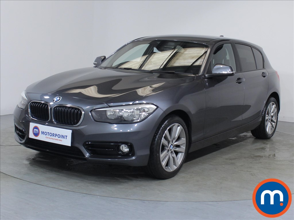 BMW 1 Series Sport - Stock Number 1097922 Passenger side front corner