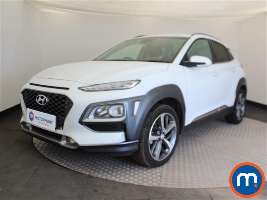 Hyundai Kona Premium - Stock Number 1096810 Passenger side front corner