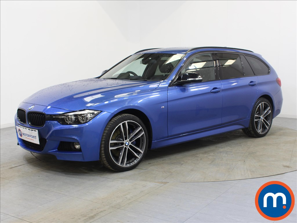 BMW 3 Series M Sport Shadow Edition - Stock Number 1095087 Passenger side front corner