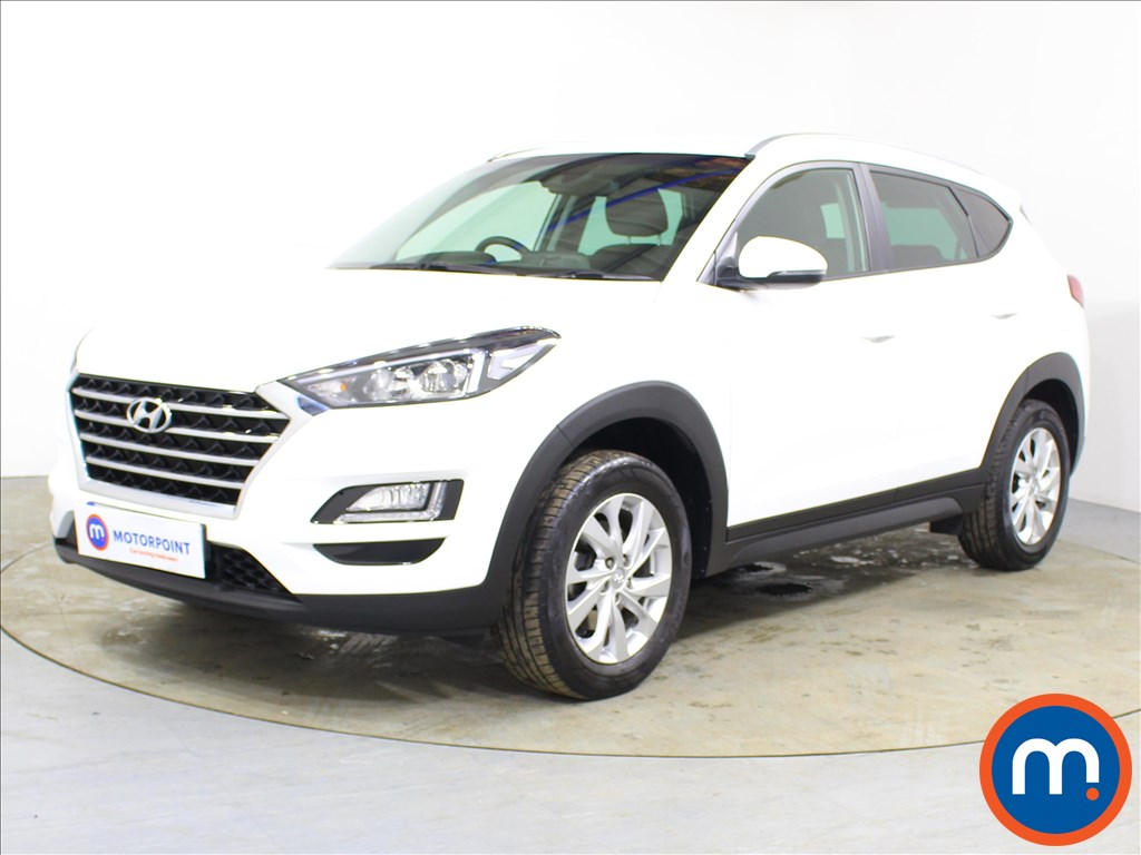 Hyundai Tucson SE Nav - Stock Number 1096532 Passenger side front corner