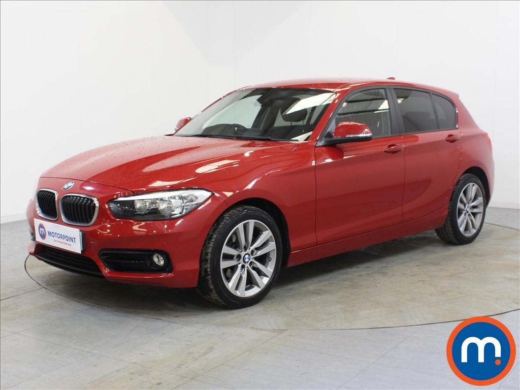 BMW 1 Series Sport - Stock Number 1098064 Passenger side front corner