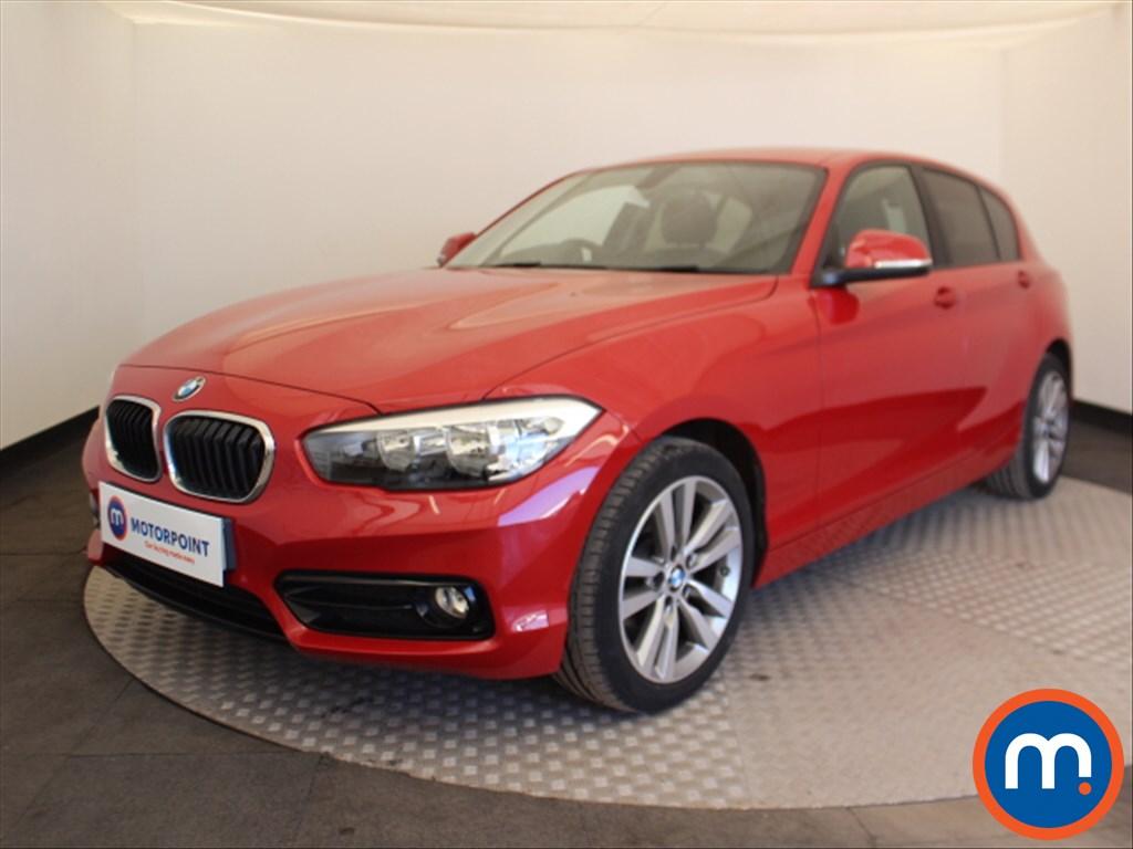 BMW 1 Series Sport - Stock Number 1091341 Passenger side front corner