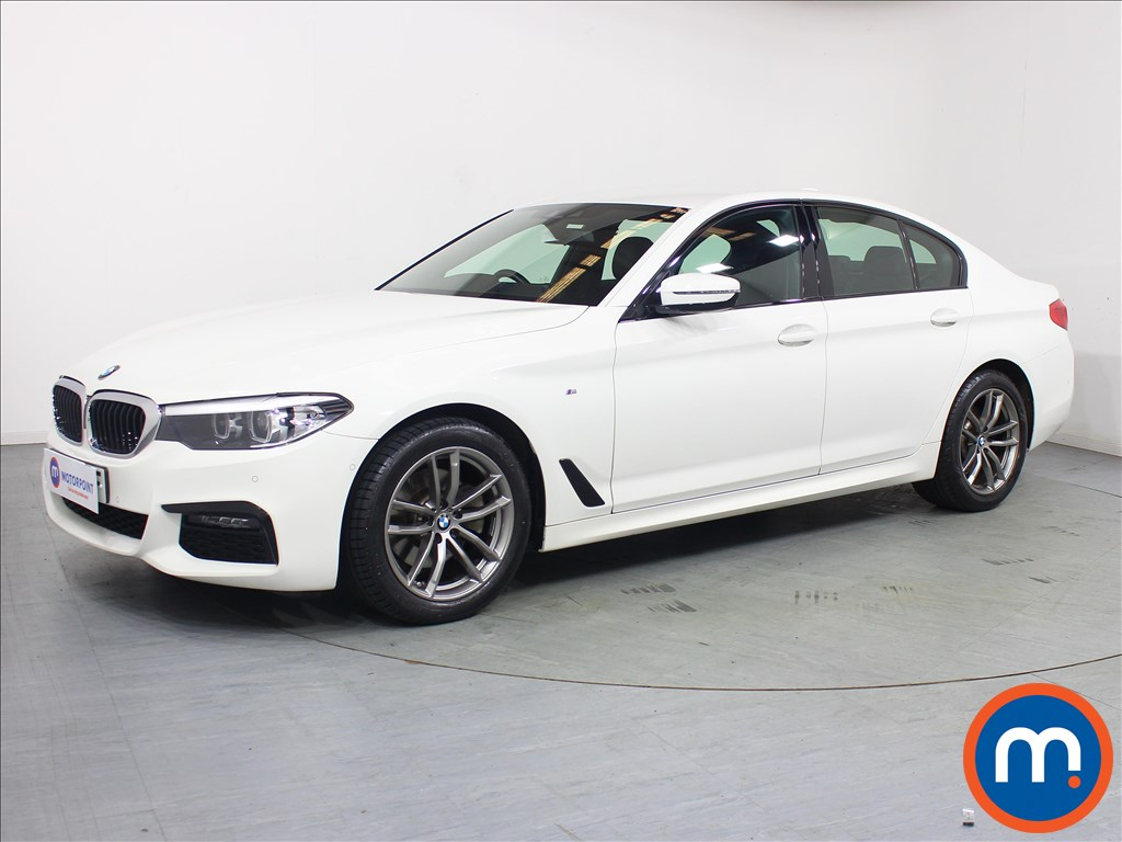 BMW 5 Series M Sport - Stock Number 1092948 Passenger side front corner