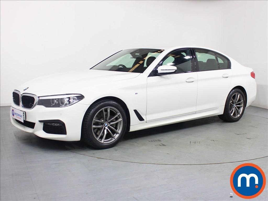 BMW 5 Series M Sport - Stock Number 1092948 Passenger side front corner
