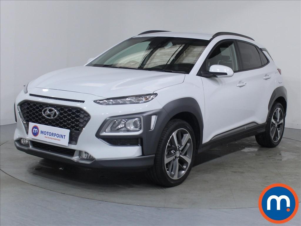 Hyundai Kona Premium - Stock Number 1096809 Passenger side front corner