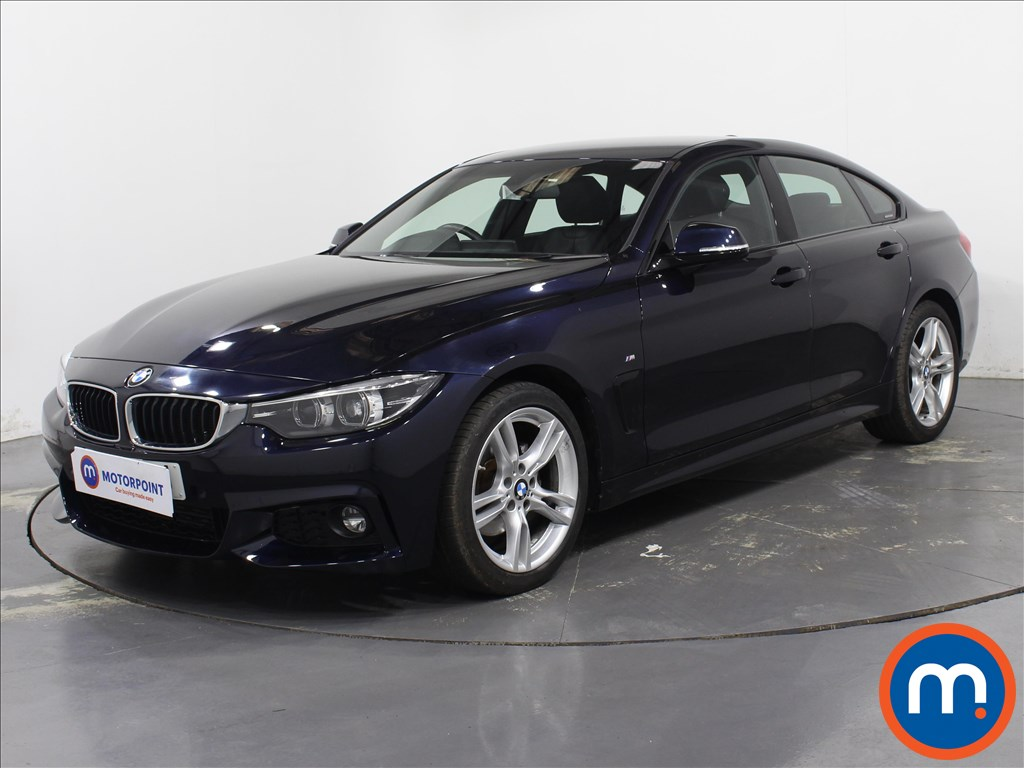 BMW 4 Series M Sport - Stock Number 1088970 Passenger side front corner