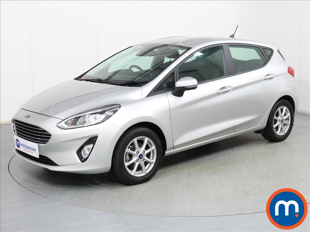 Ford Fiesta Zetec - Stock Number 1096477 Passenger side front corner