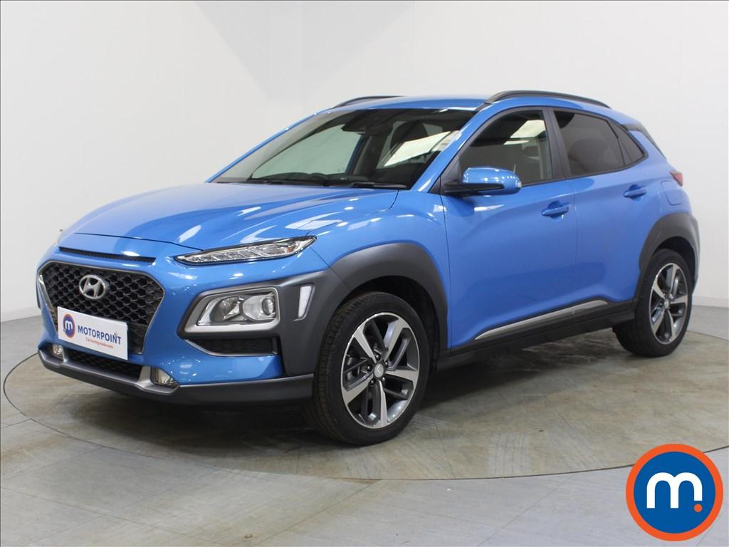 Hyundai Kona Premium - Stock Number 1096803 Passenger side front corner