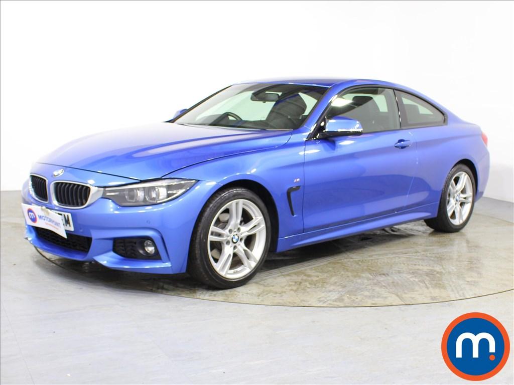 BMW 4 Series M Sport - Stock Number 1091432 Passenger side front corner