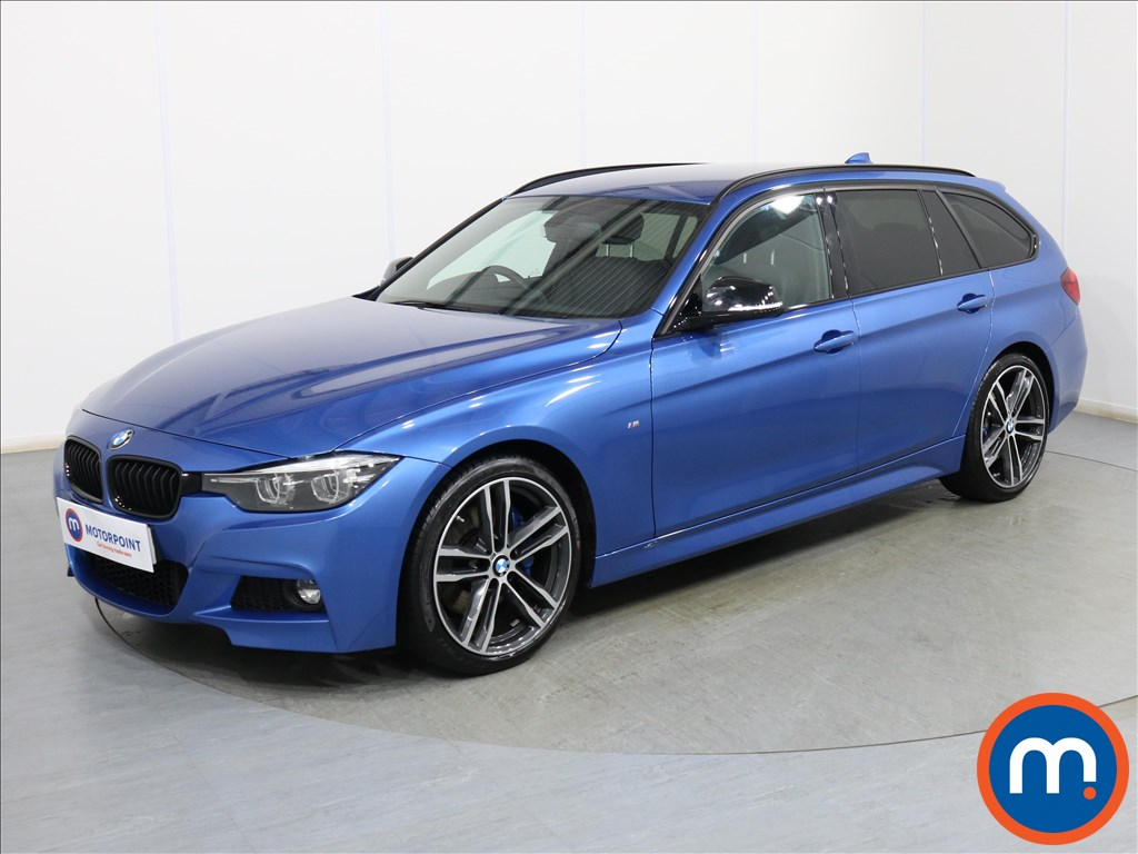 BMW 3 Series M Sport Shadow Edition - Stock Number 1096863 Passenger side front corner