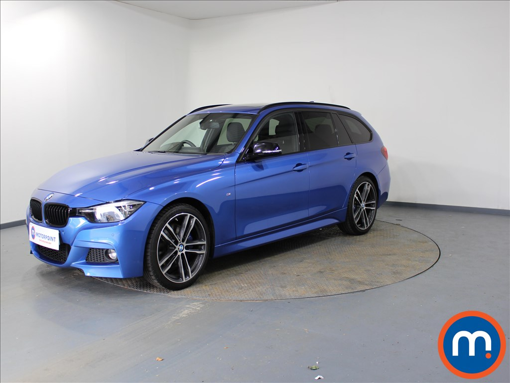 BMW 3 Series M Sport Shadow Edition - Stock Number 1096258 Passenger side front corner