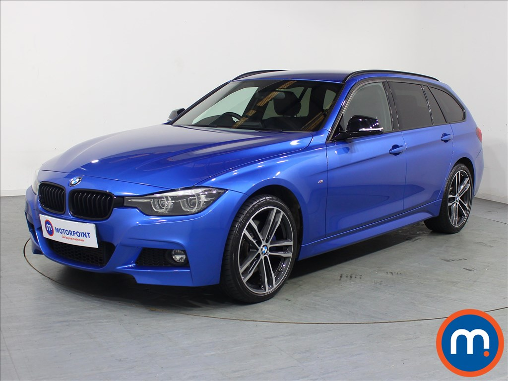 BMW 3 Series M Sport Shadow Edition - Stock Number 1095135 Passenger side front corner