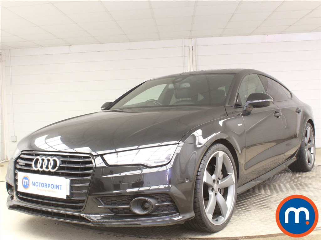 Audi A7 Black Edition - Stock Number 1093462 Passenger side front corner