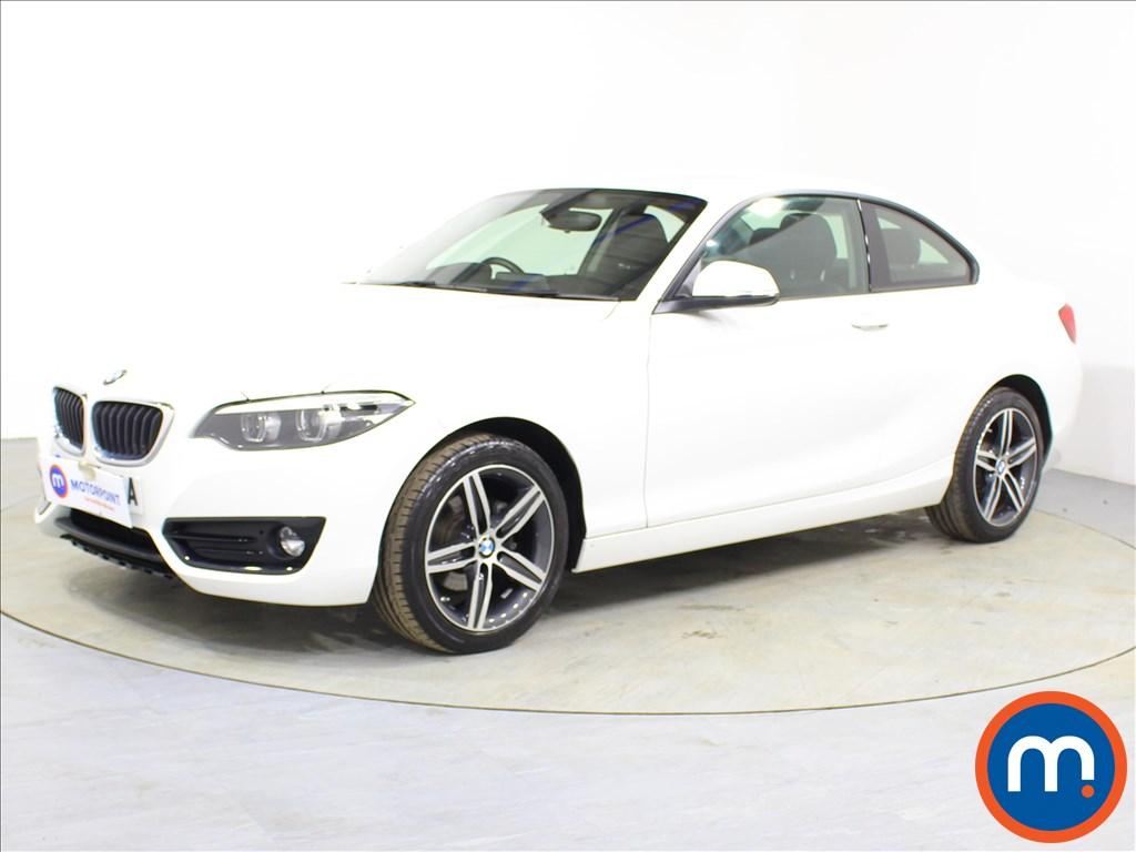 BMW 2 Series Sport - Stock Number 1091608 Passenger side front corner