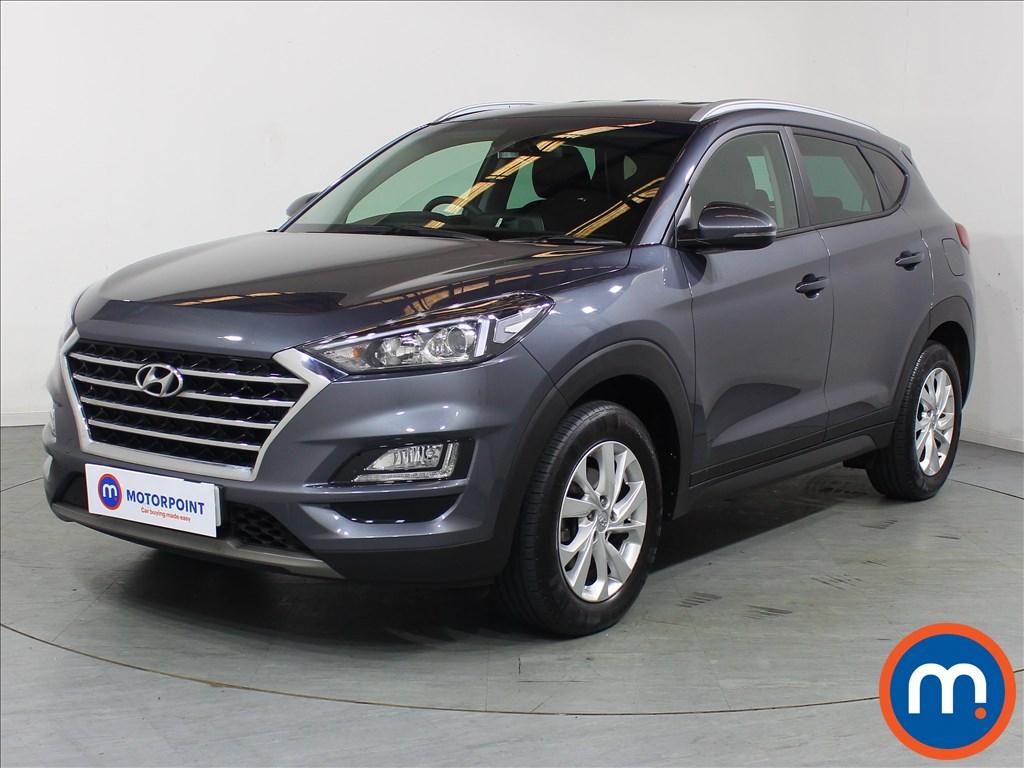 Hyundai Tucson SE Nav - Stock Number 1096653 Passenger side front corner