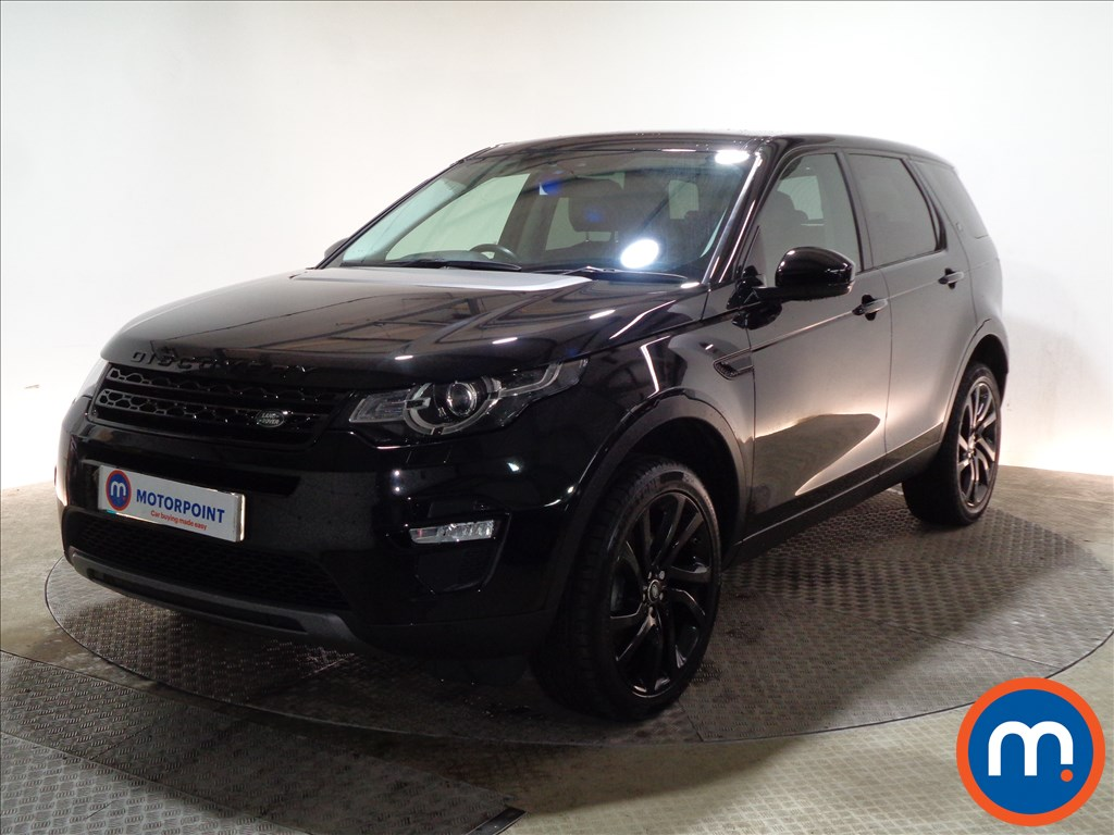 Land Rover Discovery Sport HSE Black - Stock Number 1097244 Passenger side front corner