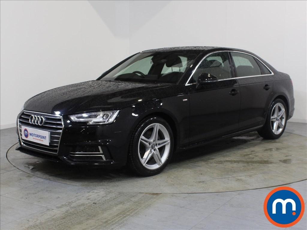 Audi A4 S Line - Stock Number 1093341 Passenger side front corner