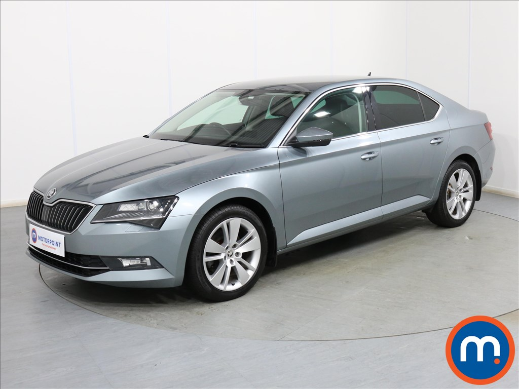 Skoda Superb SE L Executive - Stock Number 1098107 Passenger side front corner