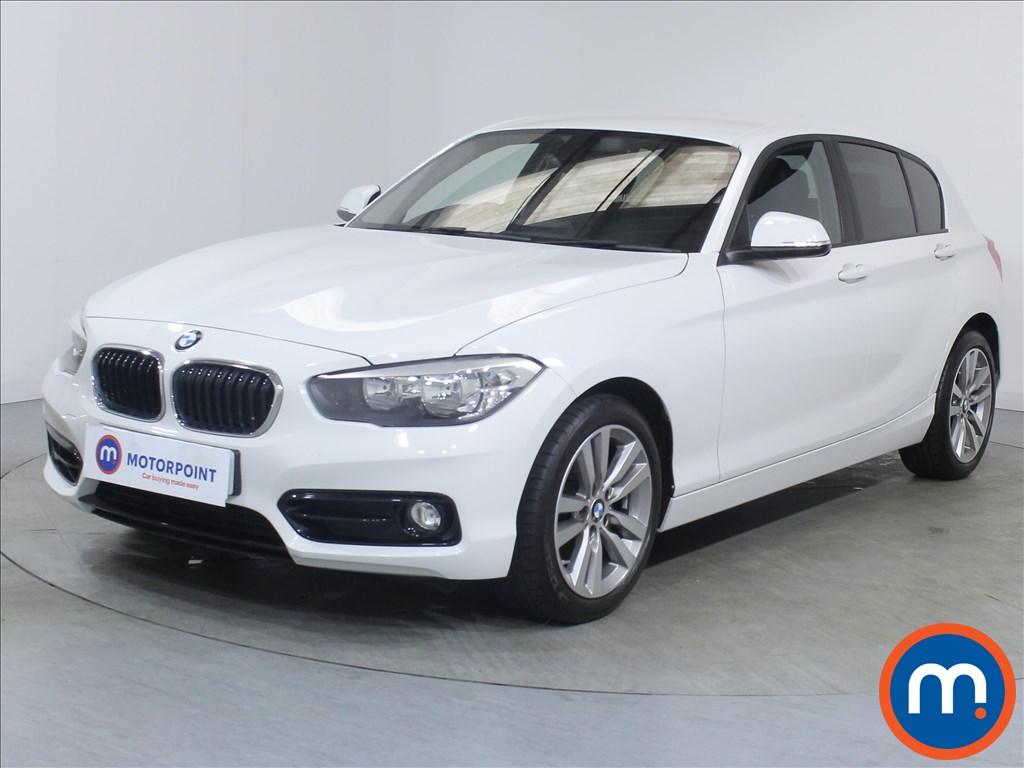BMW 1 Series Sport - Stock Number 1097540 Passenger side front corner