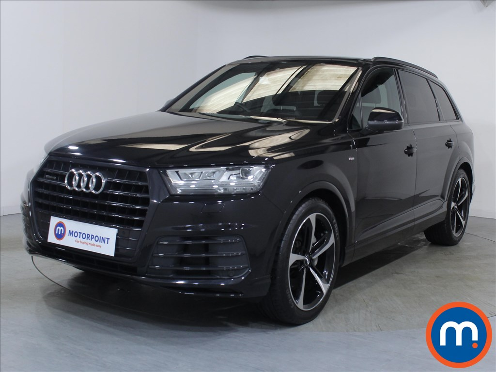 Audi Q7 Black Edition - Stock Number 1098233 Passenger side front corner