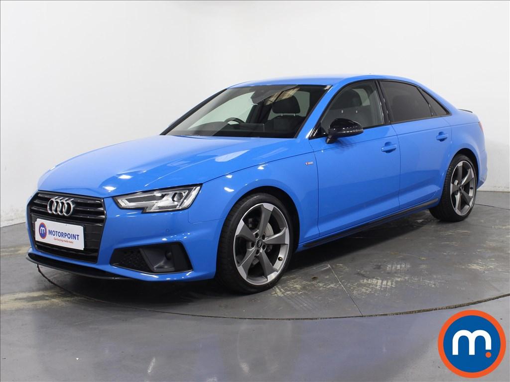 Audi A4 Black Edition - Stock Number 1093858 Passenger side front corner