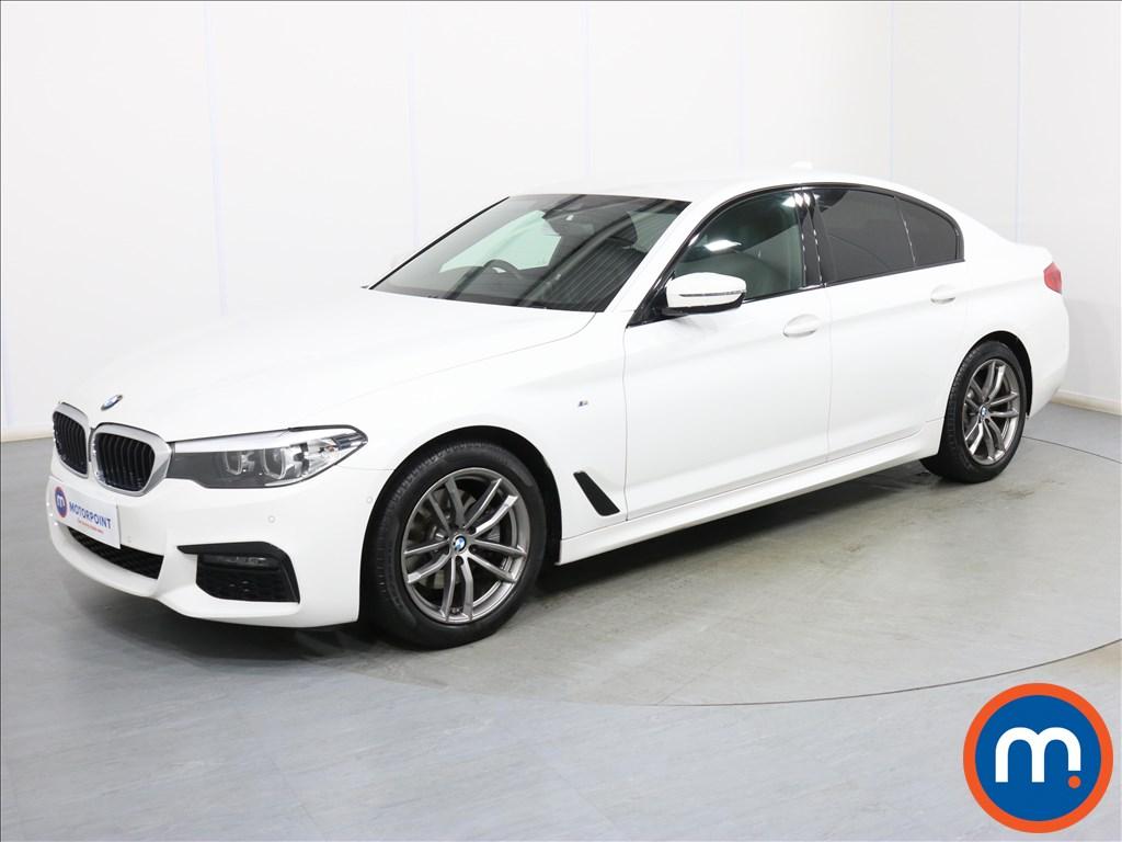 BMW 5 Series M Sport - Stock Number 1096456 Passenger side front corner