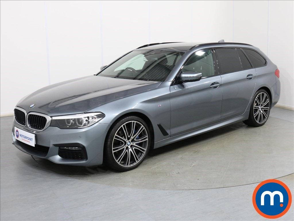 BMW 5 Series M Sport - Stock Number 1093852 Passenger side front corner