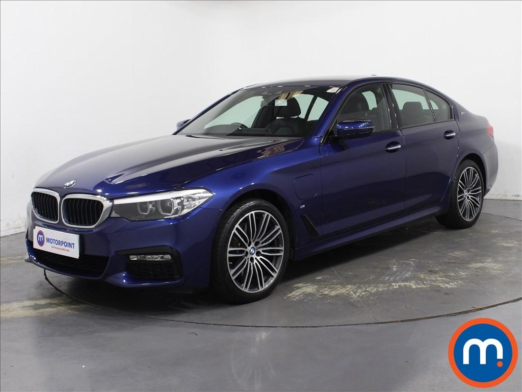 BMW 5 Series M Sport - Stock Number 1093891 Passenger side front corner