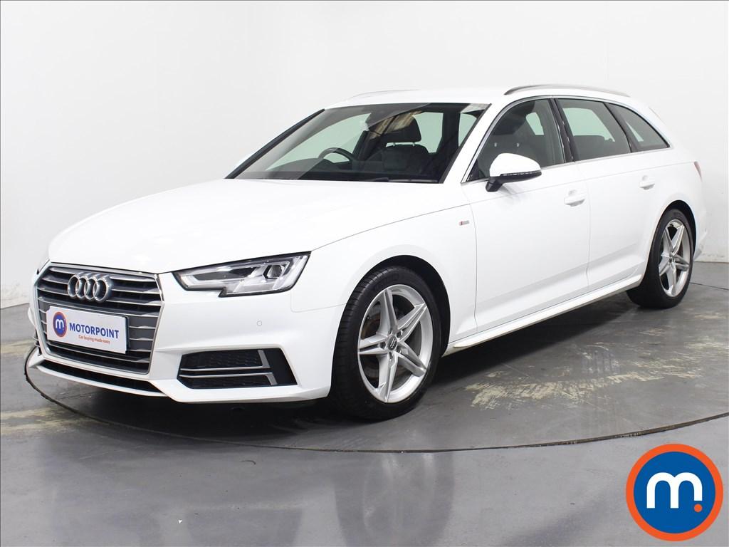 Audi A4 S Line - Stock Number 1095709 Passenger side front corner