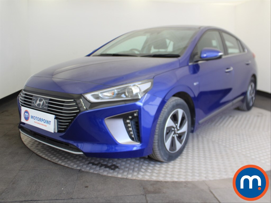 Hyundai Ioniq Premium - Stock Number 1088010 Passenger side front corner