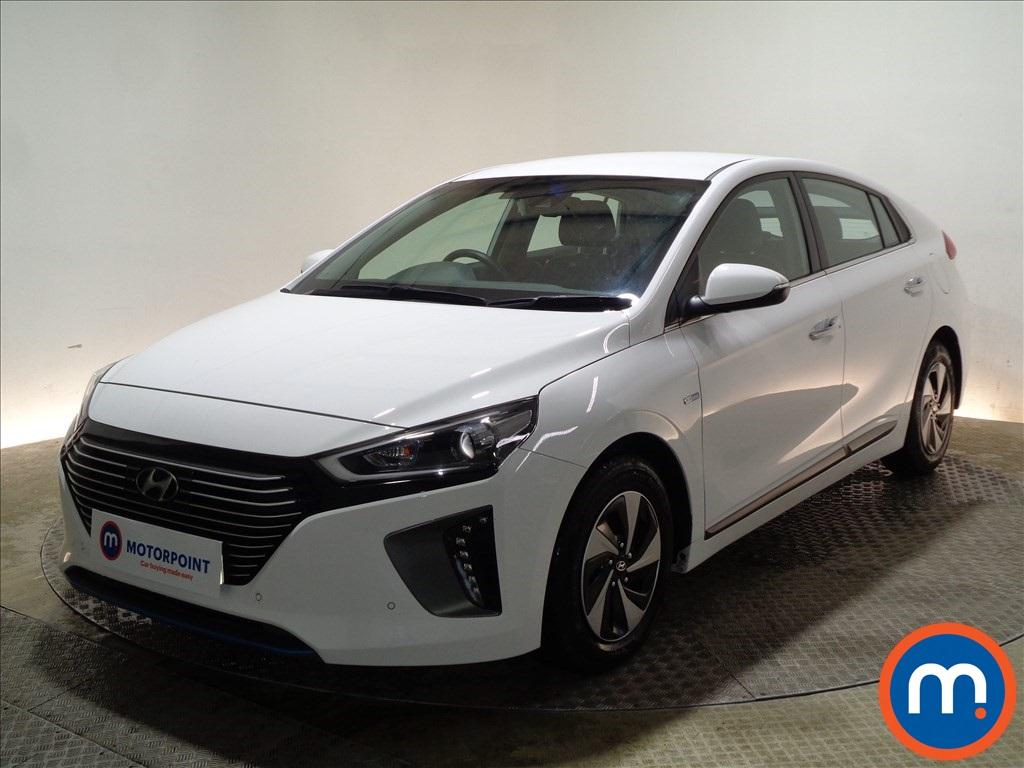 Hyundai Ioniq Premium SE - Stock Number 1087830 Passenger side front corner