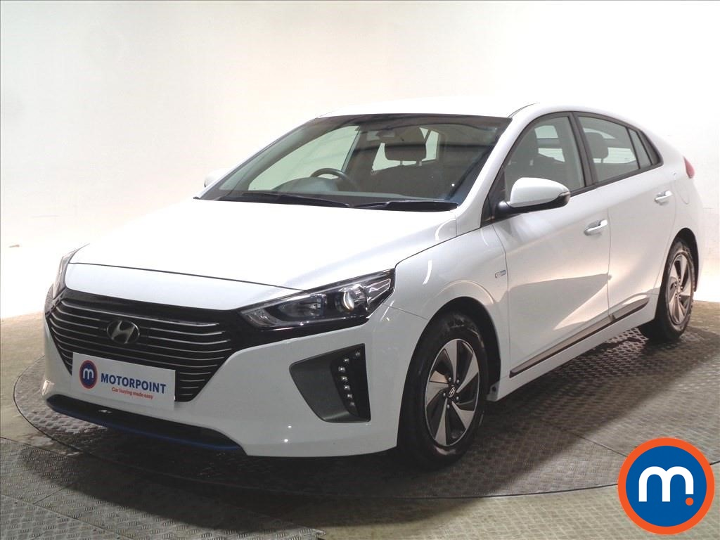 Hyundai Ioniq SE - Stock Number 1087986 Passenger side front corner