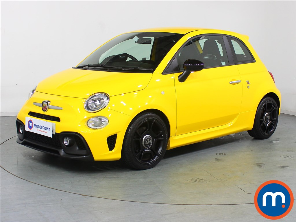 Abarth 595 Trofeo - Stock Number 1098859 Passenger side front corner