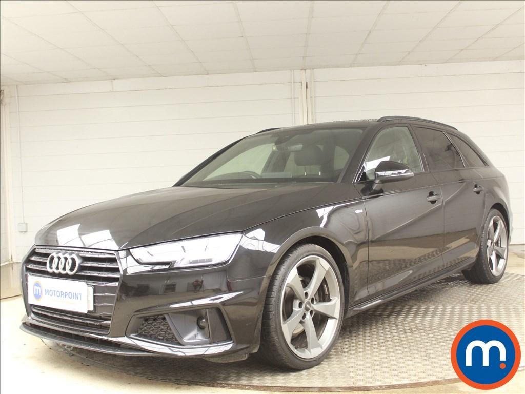 Audi A4 Black Edition - Stock Number 1095539 Passenger side front corner