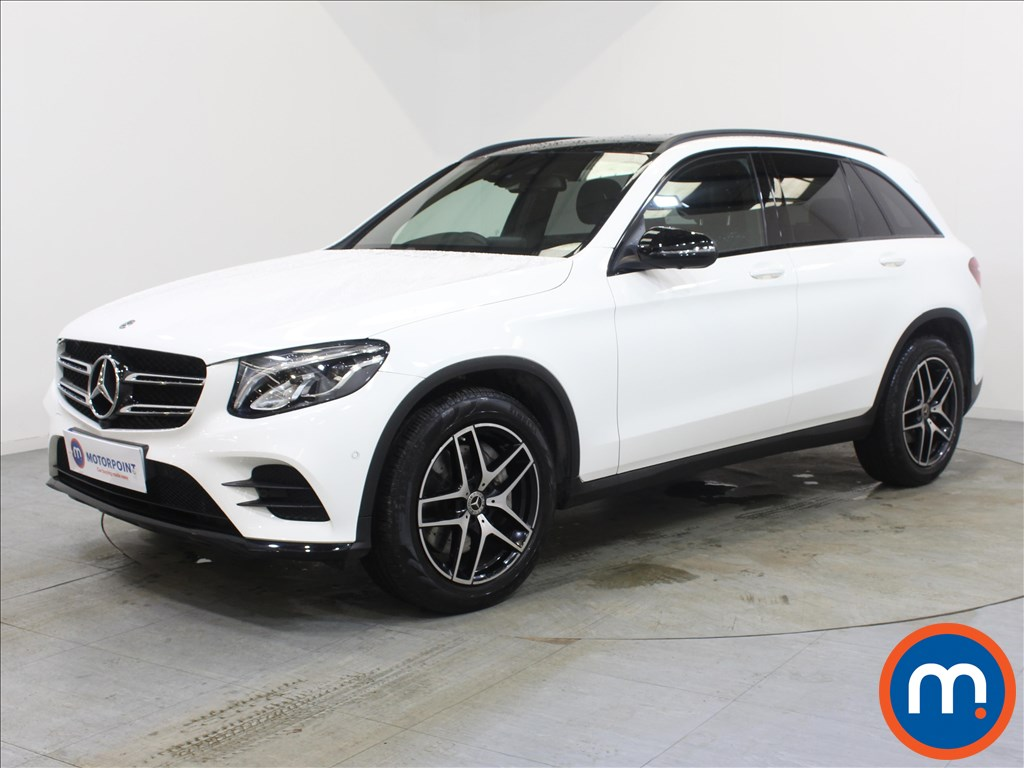 Mercedes-Benz GLC Night Edition - Stock Number 1099678 Passenger side front corner