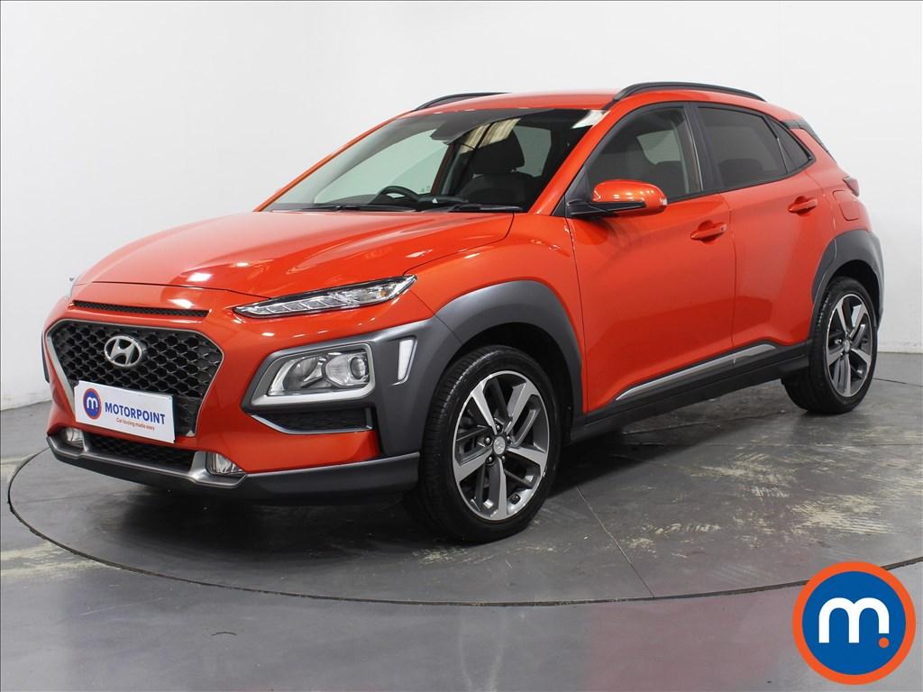 Hyundai Kona Premium - Stock Number 1098662 Passenger side front corner