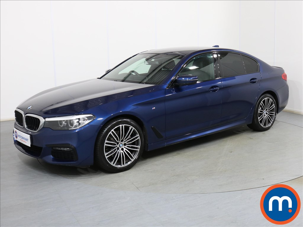 BMW 5 Series M Sport - Stock Number 1096726 Passenger side front corner