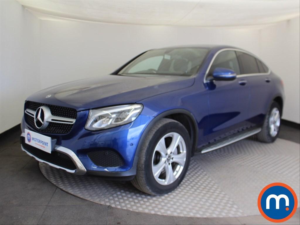 Mercedes-Benz Glc Coupe Sport - Stock Number 1094531 Passenger side front corner