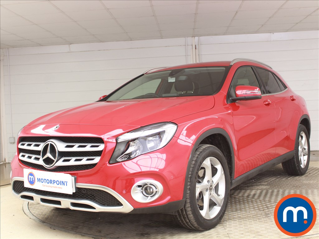 Mercedes-Benz Gla Class Sport - Stock Number 1096284 Passenger side front corner