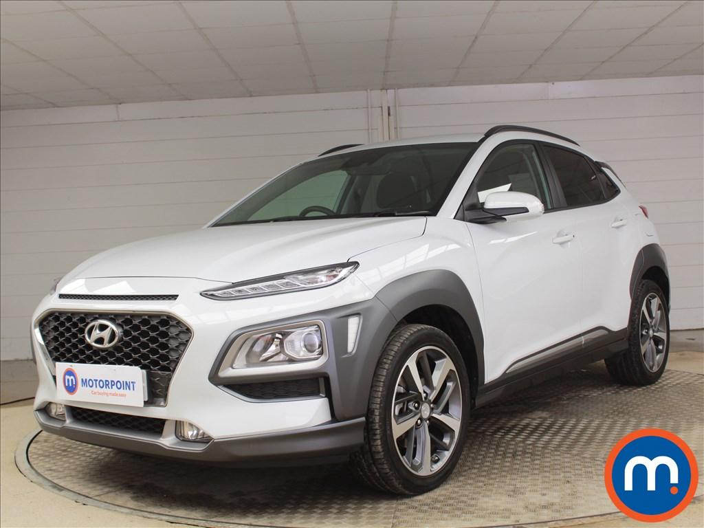 Hyundai Kona Premium - Stock Number 1096801 Passenger side front corner