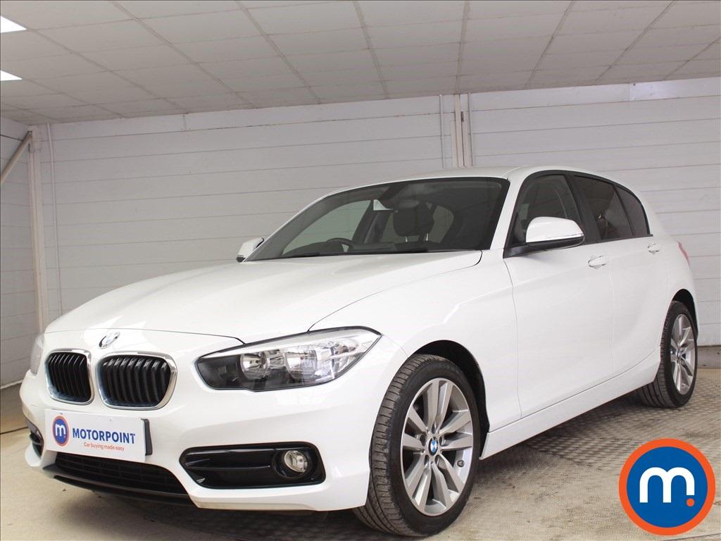BMW 1 Series Sport - Stock Number 1097534 Passenger side front corner