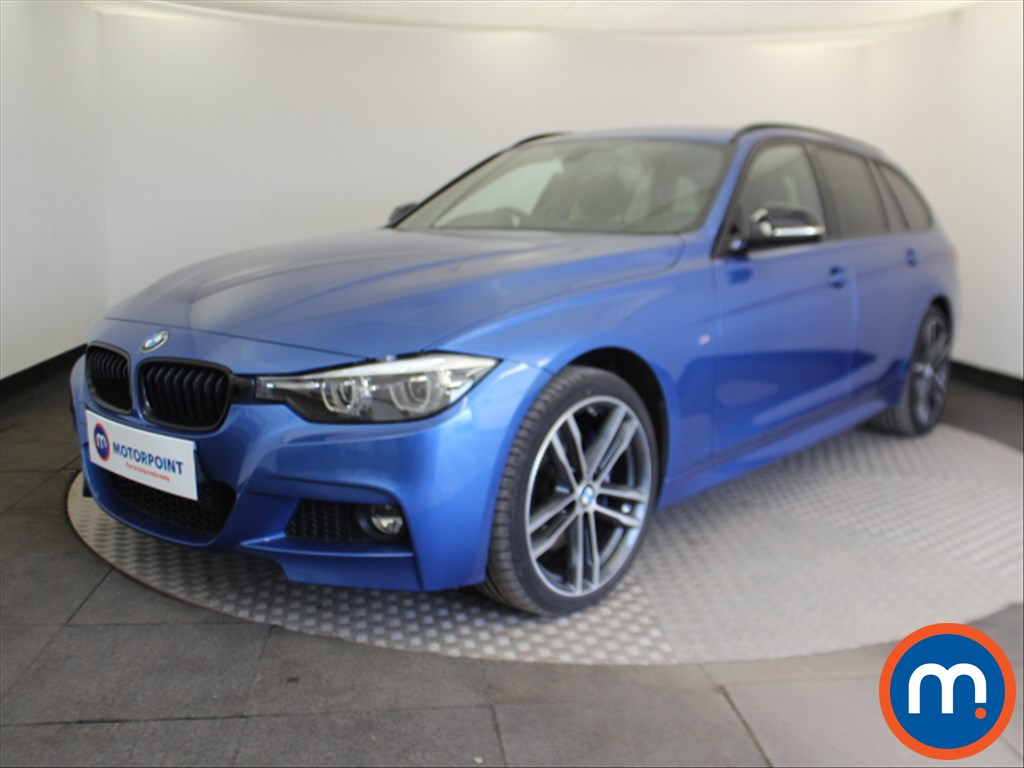 BMW 3 Series M Sport Shadow Edition - Stock Number 1098993 Passenger side front corner