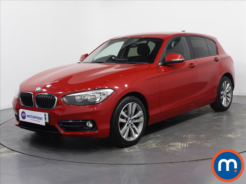 BMW 1 Series Sport - Stock Number 1097216 Passenger side front corner