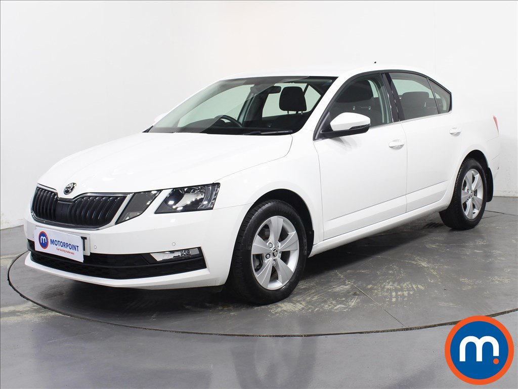 Skoda Octavia SE Technology - Stock Number 1094253 Passenger side front corner