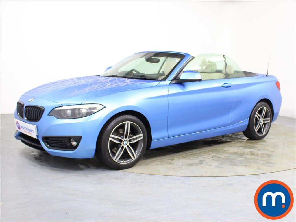 BMW 2 Series Sport - Stock Number 1094397 Passenger side front corner