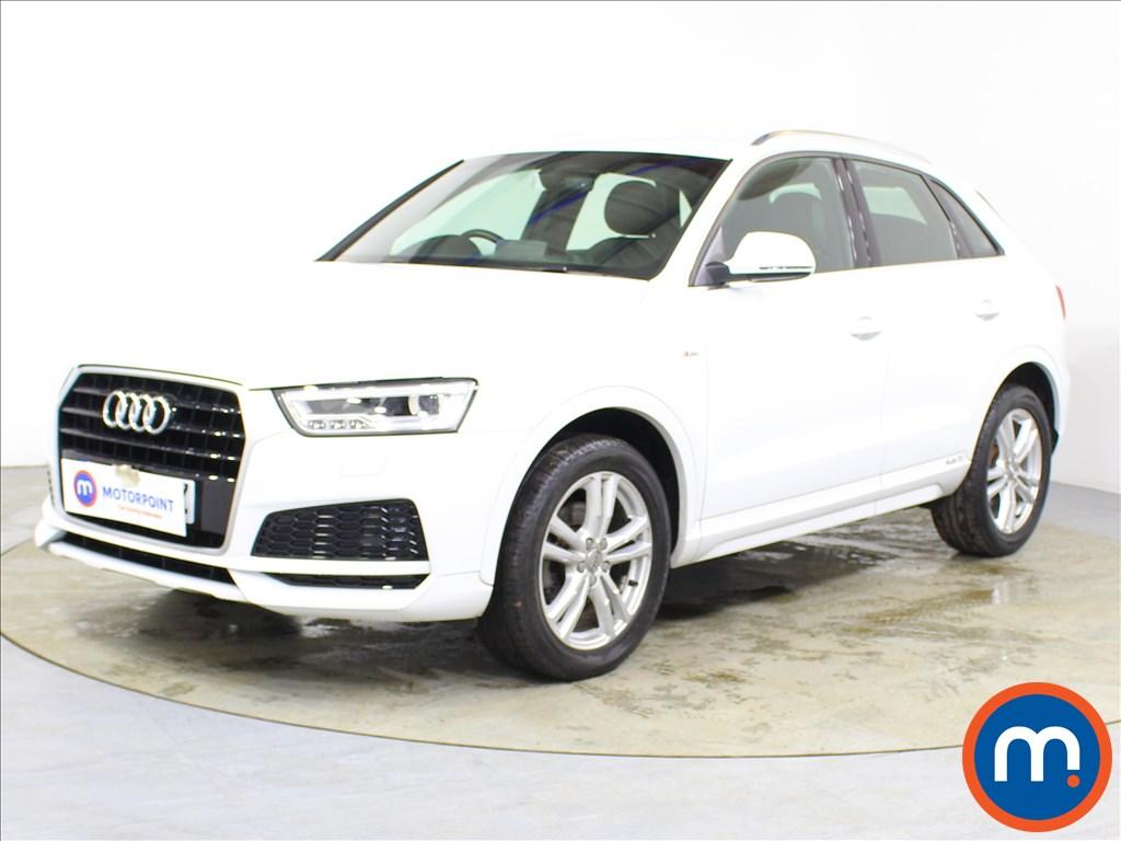 Audi Q3 S Line Edition - Stock Number 1095732 Passenger side front corner
