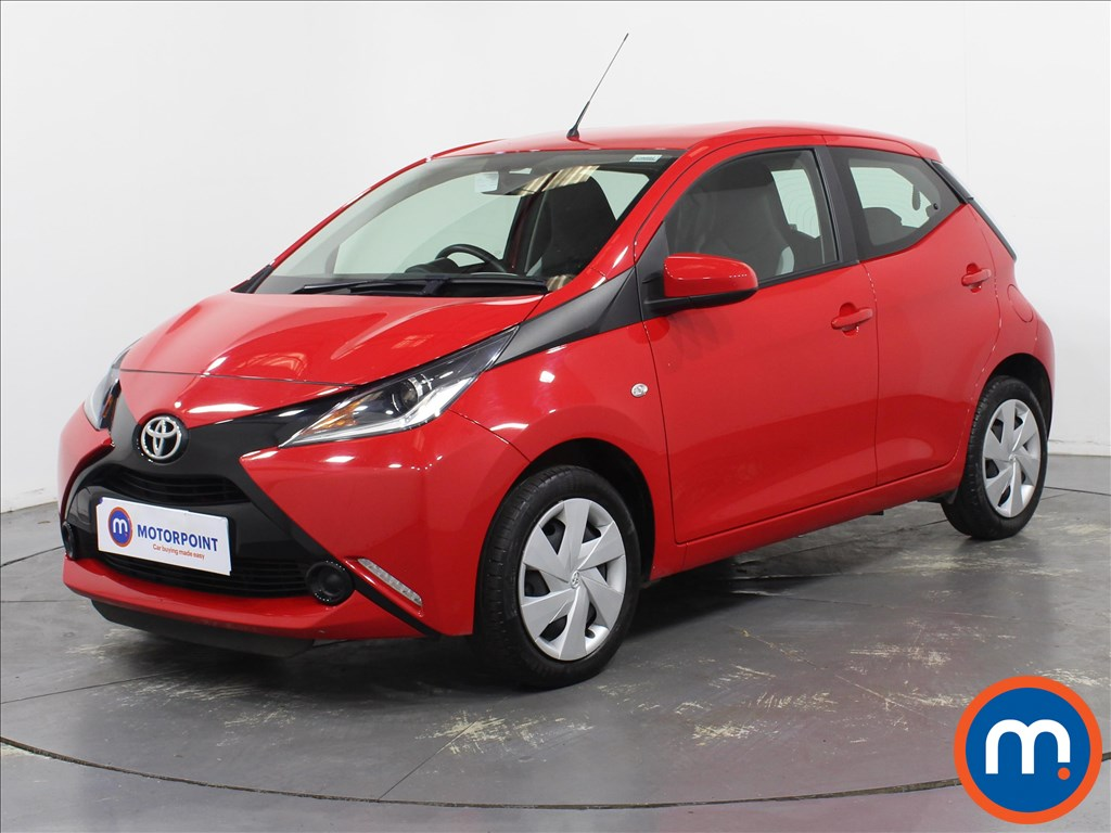 Toyota Aygo X-Play - Stock Number 1097471 Passenger side front corner