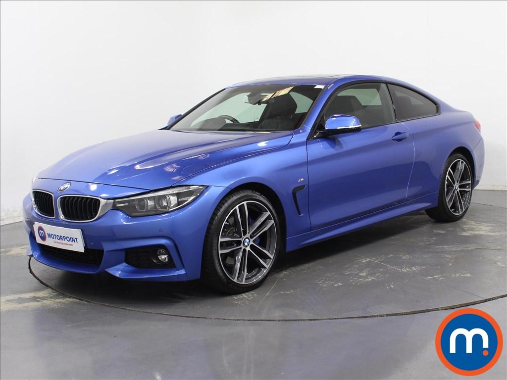 BMW 4 Series M Sport - Stock Number 1097190 Passenger side front corner